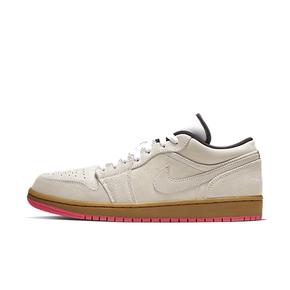 美国直邮!Nike Air Jordan 1 AJ1 Low Suede aj1淡粉
