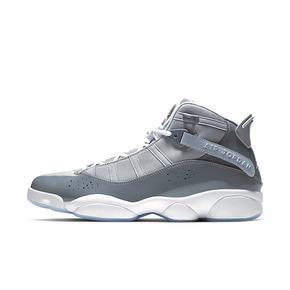 美国直邮! Air Jordan 6 Rings 六冠王 篮球鞋 灰白 322992-015