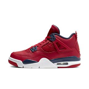 Air Jordan 4 AJ4 中国红世界杯限定GS女款篮球鞋408452-617