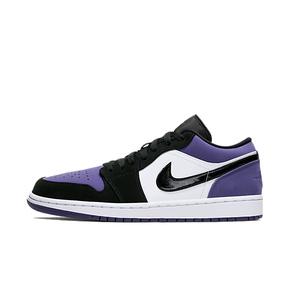 Air Jordan 1 Low AJ1 黑紫脚趾 葡萄低帮 553558-125