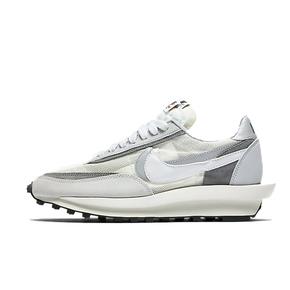 Sacai X Nike LDV waffle 解钩灰白跑鞋 BV0073-100(2019.9.12发售)