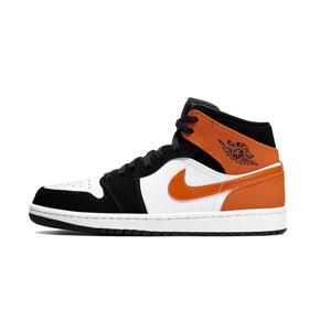 Air Jordan 1 Mid AJ1 扣碎篮板篮球鞋 554724-058