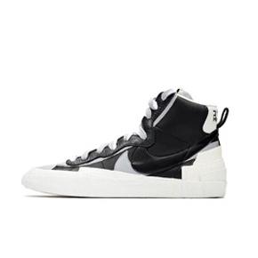 预售!Nike x Sacai Blazer 2.0 联名 解构 黑白板鞋 BV0062-002(2019.9.19发售)