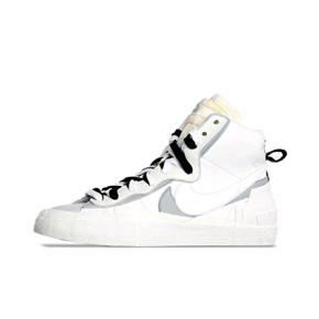 预售!Nike x Sacai Blazer 2.0联名 解构板鞋 灰白 BV8072-100(2019.9.19发售)