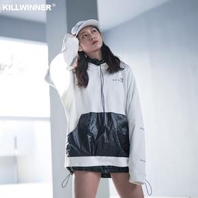 killwinner 连帽宇宙卫衣情侣外套