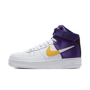 NIKE Air Force 1 High NBA Lakers 紫金湖人板鞋 BQ4591-101