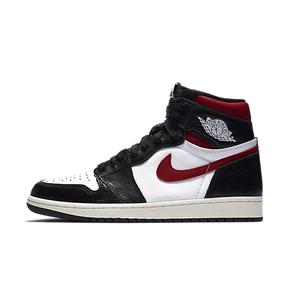 秒殺!Air Jordan 1 黑腳趾 紅勾  男子籃球鞋