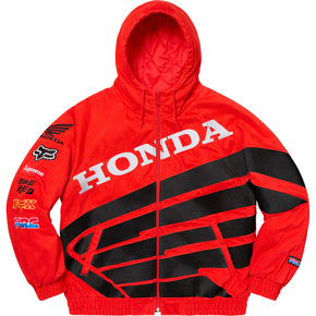 Supreme 19秋冬supreme/honda/fox racing puffy zip up jacket