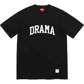 Supreme 19秋冬drama s/s top