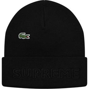Supreme 19秋冬supreme/lacoste beanie