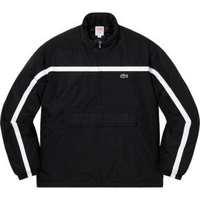 Supreme 19秋冬supreme/lacoste puffy half zip pullovert