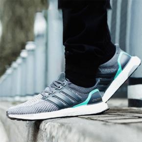 Adidas Ultra Boost 2.0 灰绿色  AQ5931
