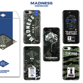 【定制】MADNESS X BAPE 软硅胶手机壳 for iPhone6/7/PLUS