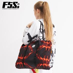 f5s熔岩系列单肩包欧美休闲托特包新款旅行潮牌旅行斜挎包FSSW132
