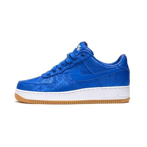 CLOT x Nike Air Force 1 Game Royal 蓝丝绸 CJ5290-400