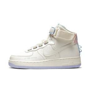 Nike Air Force 1 AF1 HI UT女解构空军一号乳白紫 CQ4810-111