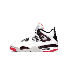 秒杀!Air Jordan 4 AJ4 GS 兔八哥 大理石热熔岩白红408452-116(2019.3.2日发售)