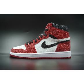 【球鞋定制】Air Jordan 1 芝加哥公牛篮球鞋 繁星配色