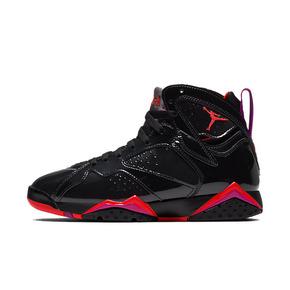 Air Jordan 7 AJ7 黑漆皮万圣节猛龙黑紫 313358-006(2019.10.31发售)