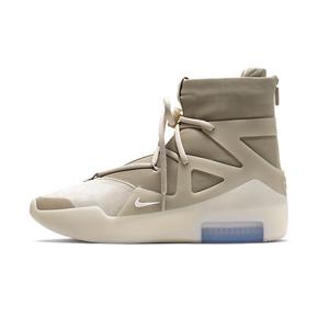 预售!Nike Air Fear Of God 1 Oatmeal 大地配色高帮休闲鞋 AR4237-900(2019.11.2发售)