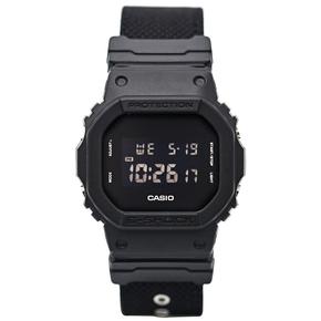 卡西欧手表 G-SHOCK DW-5600BBN-1多功能运动电子防水防震男表
