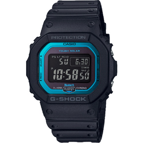 卡西欧手表 G-SHOCK初代经典款追加表款 6局电波蓝牙太阳能动力防水防震运动男表GW-B5600