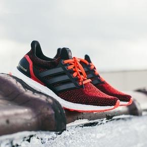 Adidas Ultra Boost 2.0 黑红 AQ5930