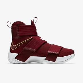 Nike Lebron Soldier 10 酒红 844375-668