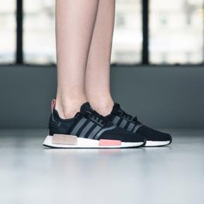 断码秒杀!Adidas NMD Boost 黑粉配色 S75234