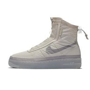 NIKE W AIR FORCE 1 SHELL 耐克 女子高帮板鞋 BQ6096-002