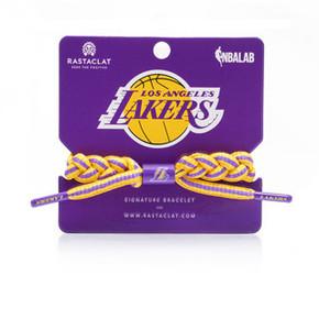 RASTACLAT  NBA限定 LAKERS AWAY 洛杉磯湖人手鏈