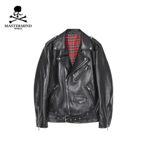 MASTERMIND WORLD Leather Jacket B075798