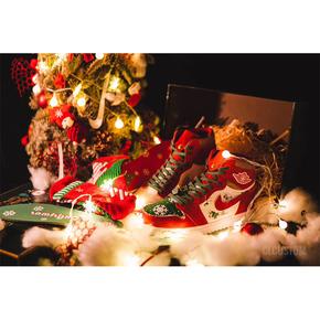 """【球鞋定制】Air Jordan 1 Custom """"圣誕節"""" 限定套裝"""