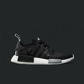 39 1/3码一双秒价!Adidas NMD Boost 黑色射线 S79386