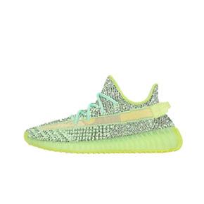"""预售!Adidas Yeezy Boost 350 V2 """"Yeezreel Reflective"""" 黑绿 夜光满天星 FX4130(2019.12.17发售)"""