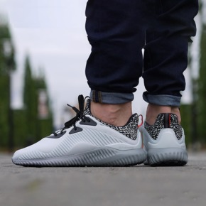 Adidas Alpha Bounce 灰白 AQ8214