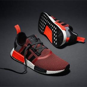 44.5码秒杀!Adidas NMD Boost 黑红 S79158