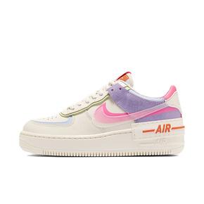 Nike Air Force 1 Shadow AF1空军拼接 果冻白粉紫板鞋CU3012-164