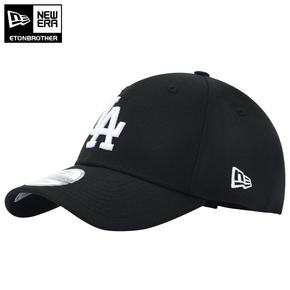 New Era纽亦华 19新款棒球帽经典LA字母刺绣设计帽子时尚百搭黑色