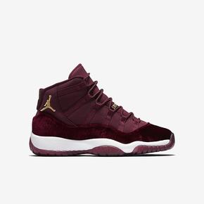 """Air Jordan 11 GS """"Heiress"""" 红丝绒 852625-650"""