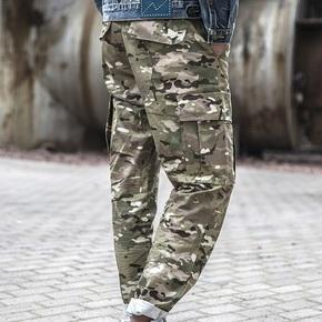 Dopper Camo Pants 迷彩泼墨工装口袋裤 沙漠 军事休闲长裤