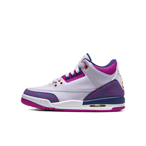 Air Jordan 3 GS Barely Grape AJ3粉紫爆裂 篮球鞋 441140-500(2020.1.4发售)