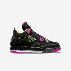 Air Jordan 4 GS 黑紫配色 705344-027