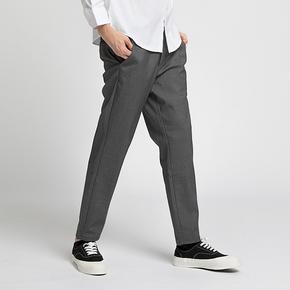 PRAGMATY御寒利器防风加绒修身休闲裤 优质复合面料244205