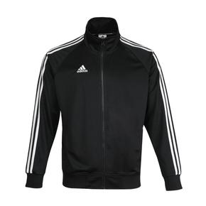 Adidas阿迪達斯外套男女新款秋冬季夾克休閑跑步運動服針織立領茄克上衣TR30J1-BW