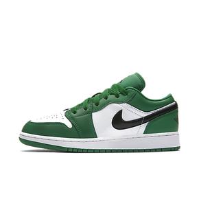 Air Jordan 1 AJ1小凯尔特人 白绿脚趾 低帮 553560-301