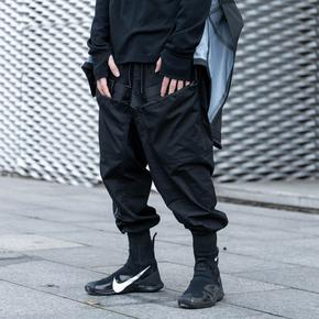 CATSSTAC 2020SS 双拉链托容MOLLE系统束脚裤