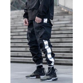 CATSSTAC 2020SS 3M反光撞色拼接冲锋裤