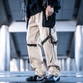 KILLWINNER 量子力学拼接口袋裤