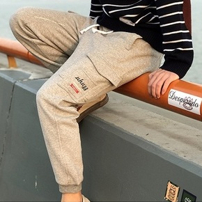 Uhuzz 2016AW Basic Jogger Pants 多口袋加绒束脚裤运动长裤卫裤